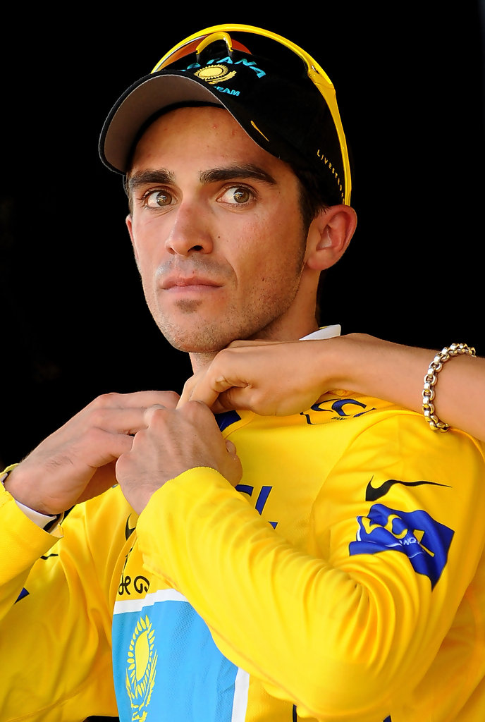 Alberto Contador Is the New Leader of the Tour