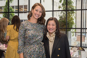 Christy Turlington Burns attends philanthropic luncheon at Forty Five Ten on October 29, 2019 in Dallas, Texas.