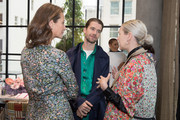 (L-R) Christy Turlington Burns, Sanders Lak, and Kristen Cole attend philanthropic luncheon at Forty Five Ten on October 29, 2019 in Dallas, Texas.