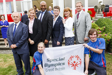 Tracey Crouch Special Olympics GB's World Games Team - Reception