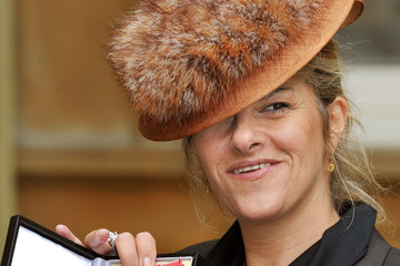 Tracey Emin Investitures At Buckingham Palace