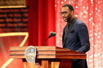 Tracy McGrady 2017 Basketball Hall of Fame Enshrinement Ceremony
