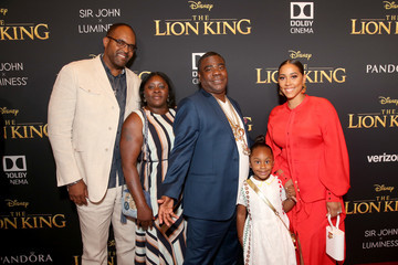 Tracy Morgan Megan Wollover The World Premiere Of Disney's 'The Lion King'