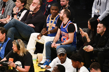 Tracy Morgan Celebrities At The 67th NBA All-Star Game: Team LeBron Vs. Team Stephen