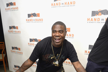 Tracy Morgan Hand in Hand: A Benefit for Hurricane Relief - New York - Press Room