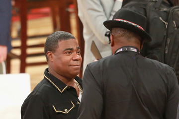 Tracy Morgan Celebrities Attend the 2018 State Farm All-Star Saturday Night