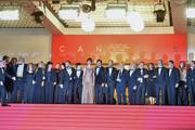 """The cast and crew of the film attend the screening of """"The Traitor"""" during the 72nd annual Cannes Film Festival on May 23, 2019 in Cannes, France."""