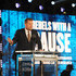 James Corden Photos - James Corden speaks onstage during the Transformative Medicine of USC: Rebels with a Cause GALA at  on October 24, 2019 in Santa Monica, California. - Transformative Medicine of USC: Rebels With A Cause GALA