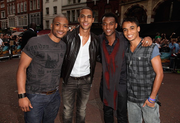 Aston+Merrygold in Transformers: Revenge of the Fallen - UK Premiere - Outside Arrivals