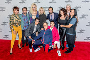 "(L-R) Alexandra Billings, Jay Duplass, Shakina Nayfack, Faith Soloway, Judith Light, Jill Soloway, Erik Liberman, Jo Lampert, Lesli Margherita and guests attend the ""Transparent"" screening at the 2019 Tribeca TV Festival at Regal Battery Park Cinemas on September 15, 2019 in New York City."