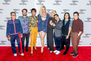 "(L-R) Jill Soloway, Jay Duplass,  Alexandra Billings, Shakina Nayfack, Judith Light, Faith Soloway, a guest and Jude Dry attend the ""Transparent"" screening at the 2019 Tribeca TV Festival at Regal Battery Park Cinemas on September 15, 2019 in New York City."
