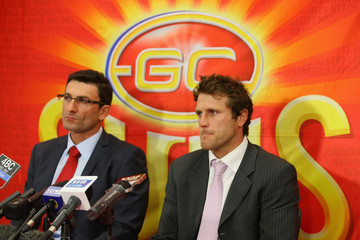 Travis Auld Gold Coast Suns Press Conference