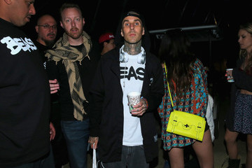 Travis Barker 2015 Coachella Valley Music And Arts Festival - Weekend 1 - Day 2