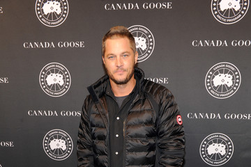 Travis Fimmel Canada Goose New York City Flagship Store Opening