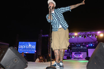 Travis McCoy GREY GOOSE Vodka And The Cadillac Championship Toast Travie McCoy