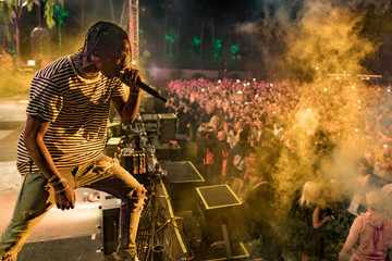 Travis Scott 2017 Coachella Valley Music And Arts Festival - Weekend 1 - Day 1