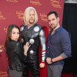 Travis Willingham Marvel Wax Figures Unveiled in Hollywood