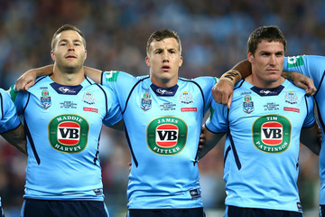 Trent Hodkinson State of Origin I - NSW v QLD