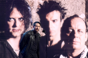 Trent Reznor 2019 Rock And Roll Hall Of Fame Induction Ceremony - Show