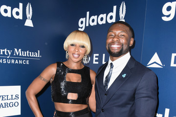 Trevante Rhodes 28th Annual GLAAD Media Awards in LA - Backstage