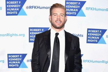 Trevor Donovan RFK Human Rights' Ripple of Hope Awards Honoring VP Joe Biden, Howard Schultz & Scott Minerd in New York City - Arrivals