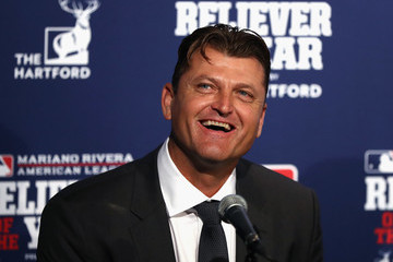 Trevor Hoffman World Series - Cleveland Indians v Chicago Cubs - Game Four