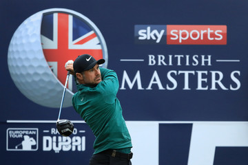 Trevor Immelman Sky Sports British Masters - Day Two