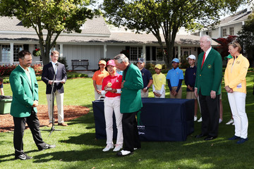 Trevor Immelman Drive, Chip, And Putt Championship At Augusta National Golf Club