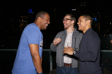 Trevor Noah Travon Free Comedy Central's 'The Daily Show with Trevor Noah' Premiere Party Event
