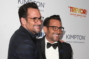Actors Lawrence Zarian (L) and Gregory Zarian attend The Trevor Project's 2016 TrevorLIVE LA at The Beverly Hilton Hotel on December 4, 2016 in Beverly Hills, California.