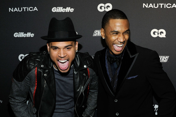 Trey Songz Chris Brown and Trey Songz attend GQ's The