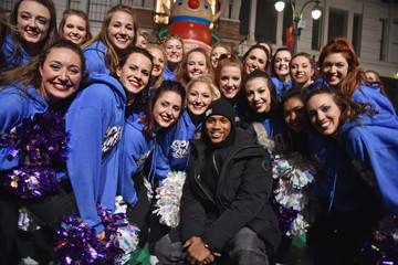 Trey Songz 89th Annual Macy's Thanksgiving Day Parade Rehearsals - Day 2