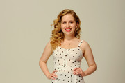 Actress Allie Grant of the film 'Struck by Lightning' visits the Tribeca Film Festival 2012 portrait studio at the Cadillac Tribeca Press Lounge on April 21, 2012 in New York City.