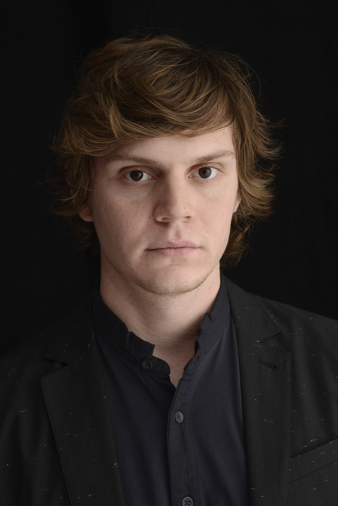 Evan Peters In Tribeca Film Festival Portrait Studio  Day