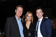 (L-R) Brett Cullen, Vinessa Shaw, and Chris Evans attend the Tribeca Film Festival after-party for Puncture hosted by (Red) at 1OAK on April 21, 2011 in New York City.