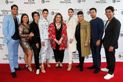 (L-R) Carlos Miranda, Chelsea Rendon, Roberta Colindrez, Mishel Prada, Tanya Saracho, Melissa Barrera, Ser Anzoategui, Ramses Jimenez and Raul Castillo attend the Tribeca TV: Vida during 2019 Tribeca Film Festival at SVA Theater on May 02, 2019 in New York City.