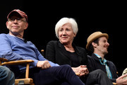 Bob Balaban, Olympia Dukakis and Denis O'Hare speak on stage at the Tribeca Talks After The Movie: Starring Austin Pendleton at SVA Theatre 2 on April 21, 2016 in New York City.