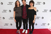 Director Lucia Aniello, actor/ writer Paul W. Downs and actress/ writer Ilana Glazer attend Tribeca Tune In: Time Traveling Bong during 2016 Tribeca Film Festival at SVA Theater 1 on April 16, 2016 in New York City.