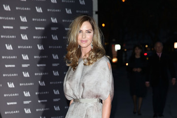 Trinny Woodall Arrivals at the Glamour of Italian Fashion