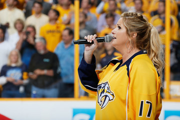 Trisha Yearwood Anaheim Ducks v Nashville Predators - Game Six