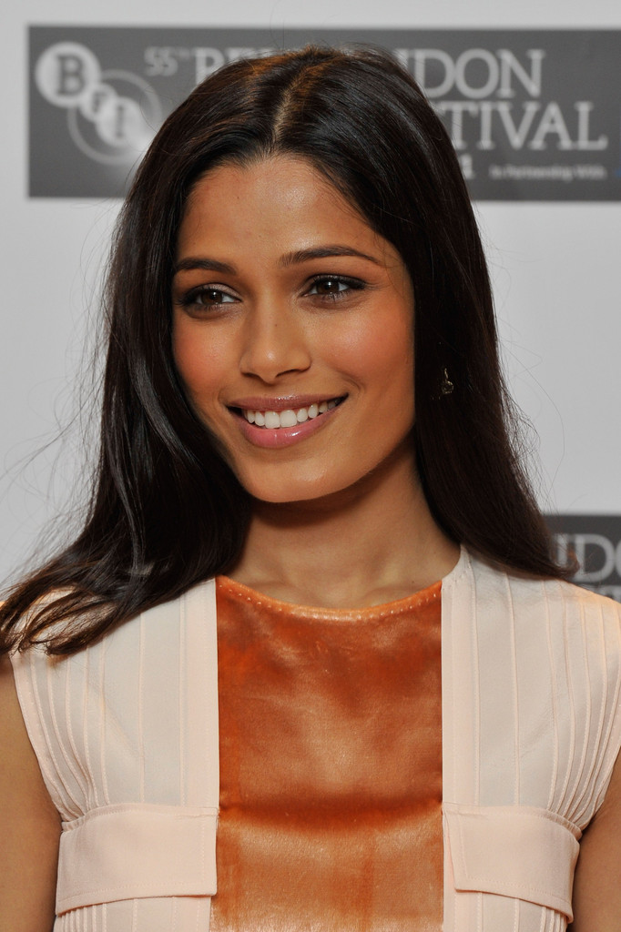 Freida Pinto in Trishna - Photocall:55th BFI London Film ...