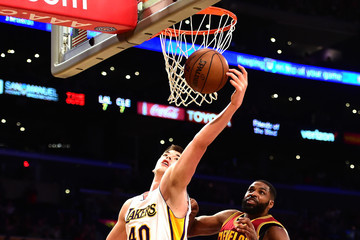 Tristan Thompson Cleveland Cavaliers v Los Angeles Lakers