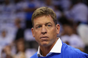 Troy Aikman Los Angeles Clippers v Oklahoma City Thunder - Game Two