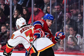 Troy Brouwer Calgary Flames v Montreal Canadiens