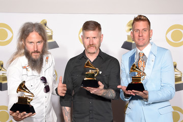 Troy Sanders 60th Annual GRAMMY Awards - Press Room