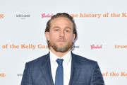 "Charlie Hunnam arrives at ""The True History Of The Kelly Gang"" World Premiere Party Hosted By Grolsch at Weslodge, during the Toronto International Film Festival on September 11, 2019 in Toronto, Canada."