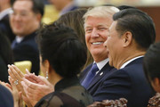 Donald Trump and Xi Jinping Photos Photo