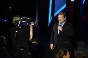 Comedian Andy Richter appears on stage during the Turner Upfront 2016 show at The Theater at Madison Square Garden on May 18, 2016 in New York City.
