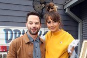 Nick Kroll and Alexi Pappas at #TwitterHouse during SXSW on March 10, 2019 in Austin, Texas.