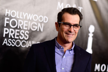 Ty Burrell Guests Arrive to the Hollywood Foreign Press Association Hosts Annual Grants Banquet